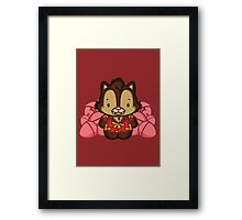 Hello Dale Framed Print