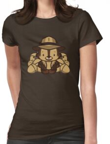 Hello Chip Womens Fitted T-Shirt
