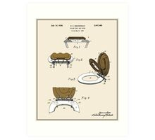Toilet Seat and Cover Patent - Colour Art Print