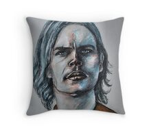 Matthew Gray Gubler-Featured in Painters Universe  Group  Throw Pillow