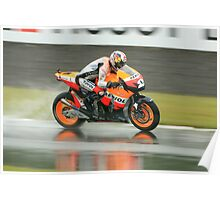 British Moto Grand Prix 8 Poster
