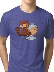 The Tanooki truth Tri-blend T-Shirt