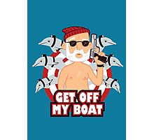Get off my Boat Photographic Print