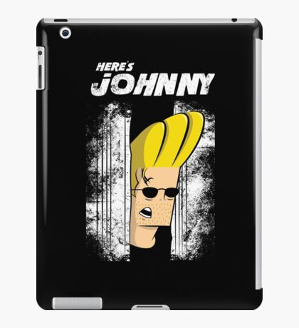 Here's johnny iPad Case/Skin