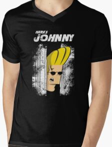 Here's johnny Mens V-Neck T-Shirt