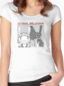 Lethal Weapons Women's Fitted Scoop T-Shirt