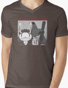 Lethal Weapons Mens V-Neck T-Shirt