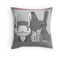 Lethal Weapons Throw Pillow