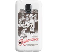 Rubacava (White) Samsung Galaxy Case/Skin
