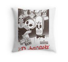 Rubacava (White) Throw Pillow
