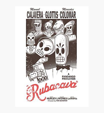 Rubacava (White) Photographic Print