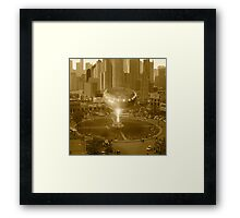 Dhol Star One Refuels at the Gulberg Spaceport in Lahore Skycity Framed Print