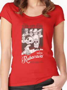 Rubacava Women's Fitted Scoop T-Shirt