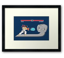 Fighter Of Streets Framed Print