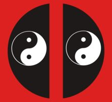 Yin Yang Deadpool Icon No Border by Neon2610