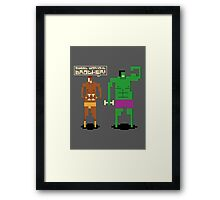 Sweet Workout Framed Print