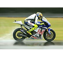 British Moto Grand Prix 6 Photographic Print