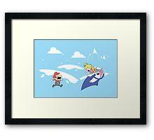 Mario's Adventure Framed Print