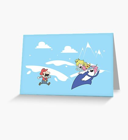 Mario's Adventure Greeting Card
