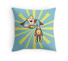 Super Sloth Throw Pillow