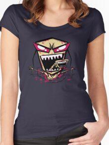 Chest burst of Doom Women's Fitted Scoop T-Shirt