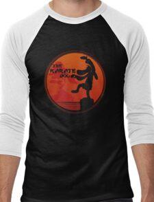 The Karate Dog  Men's Baseball ¾ T-Shirt