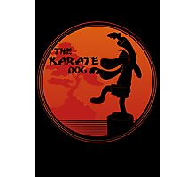 The Karate Dog  Photographic Print