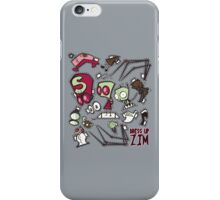 Dress up Zim iPhone Case/Skin