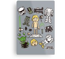 Dress up Luke Metal Print