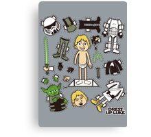 Dress up Luke Canvas Print