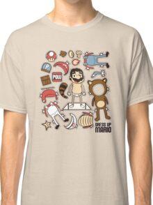Dress up Mario Classic T-Shirt
