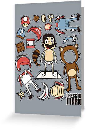 Dress up Mario by Scott Weston