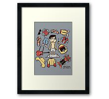 Dress up Marty Framed Print