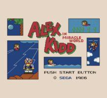 Alex Kidd by David Low