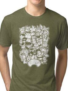 Mega 16 bit Tri-blend T-Shirt
