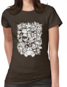 Mega 16 bit Womens Fitted T-Shirt