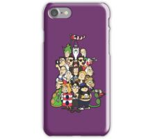 Day at the Mansion in colour! iPhone Case/Skin