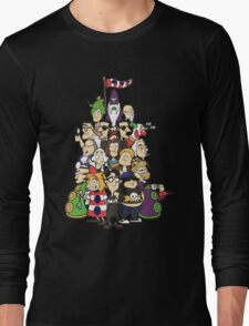 Day at the Mansion in colour! Long Sleeve T-Shirt