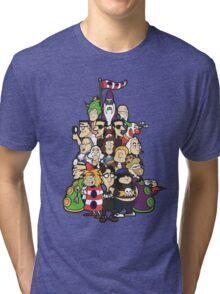 Day at the Mansion in colour! Tri-blend T-Shirt
