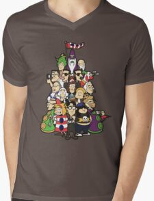Day at the Mansion in colour! Mens V-Neck T-Shirt