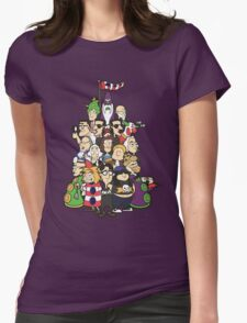 Day at the Mansion in colour! Womens Fitted T-Shirt
