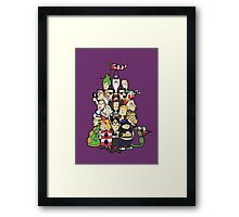Day at the Mansion in colour! Framed Print