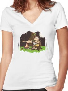 Roast Kazooie Women's Fitted V-Neck T-Shirt