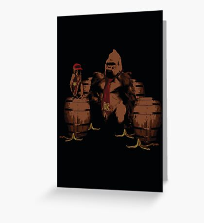 These are our bananas! Greeting Card