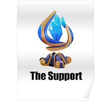 The support League of Legends Poster