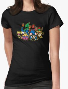 Mariomon Womens Fitted T-Shirt