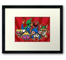 Mariomon Framed Print