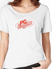 PC Engine - Red Women's Relaxed Fit T-Shirt