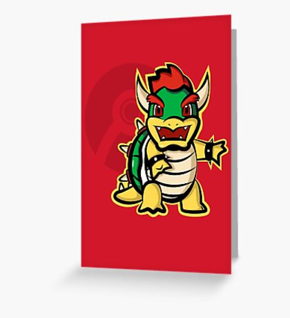 Bowtle Greeting Card