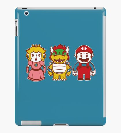 Chibi Mushroom Kingdom iPad Case/Skin